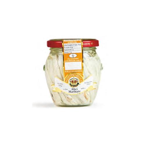 Agostino Recca Marinated White Anchovies Fillet - 7oz