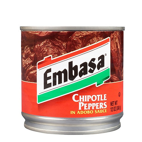 Embasa Chipotle Peppers In Adobo Sauce - 12 oz