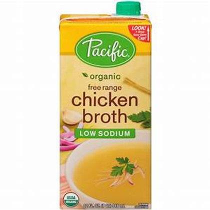 Chicken Broth Low Sodium Organic