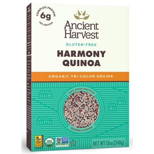 Organic Quinoa; Tri-Color Harmony Blend
