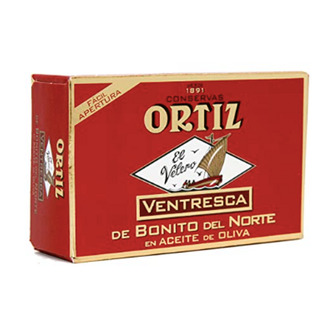 Ortiz Ventresca White Tuna Belly in Oil