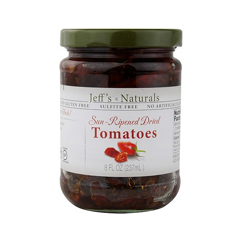Jeff's Naturals Sun-Ripened Dried Tomatoes 8 fl oz