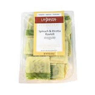 La Pasta Spinach and Ricotta Ravioli