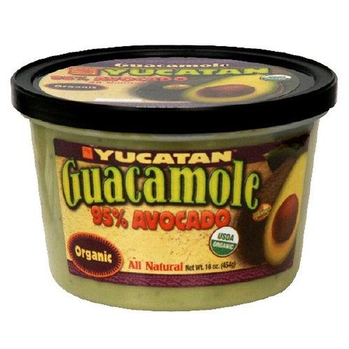 El Yucatan Organic Guacamole - 16oz