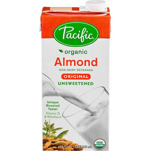 Pacific Natural Foods - Organic Almond Milk