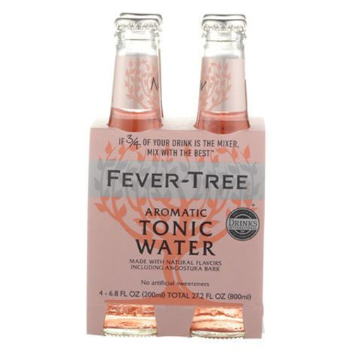 Fever Tree Aromatic Tonic Water - 4 Pack