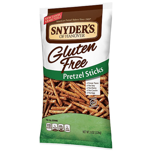 Snyder's of Hanover Gluten Free Pretzel Sticks, 8 Ounce