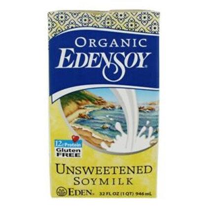 Organic Unsweetened Soy Milk - 32 oz