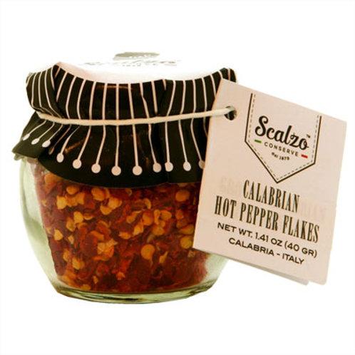 Calabrian Hot Pepper Flakes: Jar