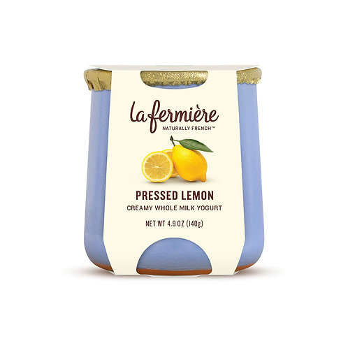 La Fermiere Pressed Lemon Yogurt