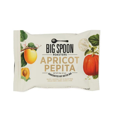 Big Spoon Roasters Apricot Pepita Nut Butter Bar