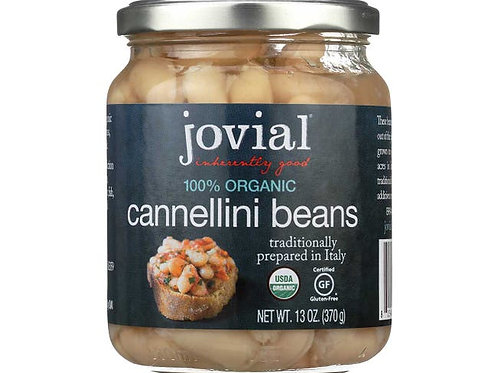 Jovial Organic Cannellini Beans, 13 Ounce