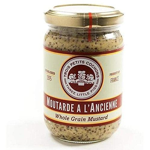 Trois Petits Cochons Moutarde a L'Ancienne Whole Grain Mustard