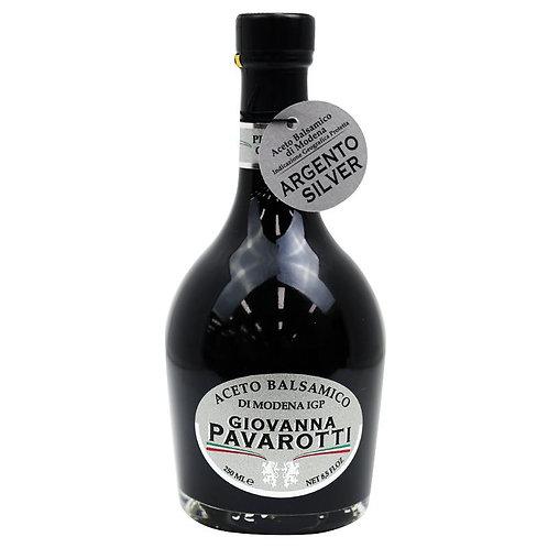 Giovanna Pavarotti Silver Balsamic Vinegar Modena 8.5 oz