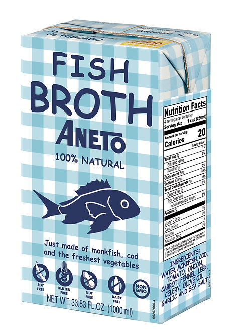 Fish Broth - 100% Natural