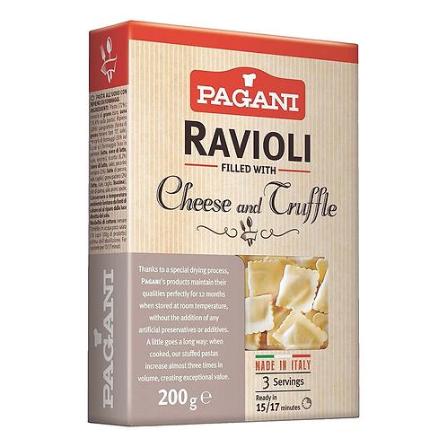 Ravioli filled with Cheese & Truffle - Pagani, 7 oz