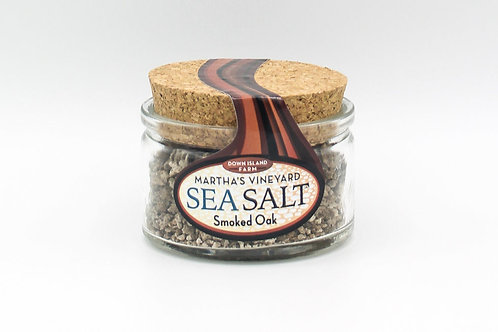 Martha's Vineyard Sea Salt: Smoked Oak