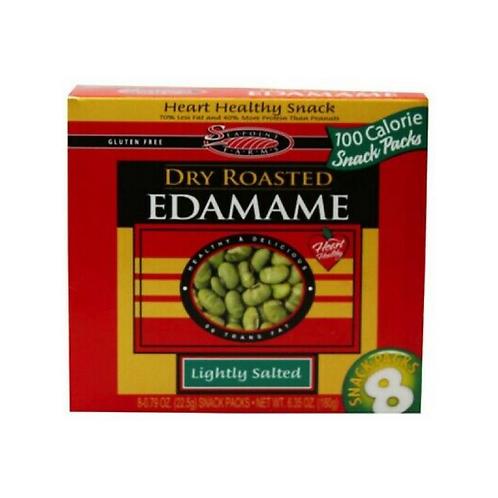 Dry Roasted Edamame Snack Packs Lightly Salted