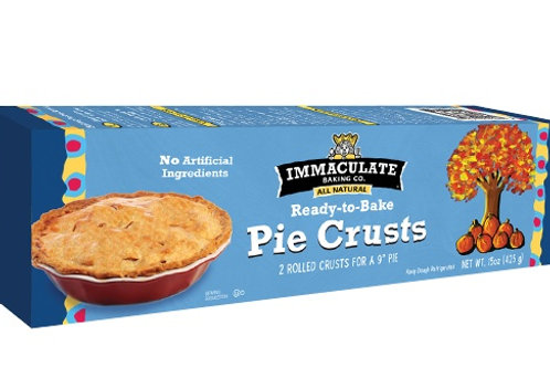 Immaculate Ready-to-Bake Pie Crusts