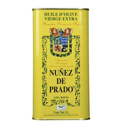 Nunez De Prado Extra Virgin Olive Oil Tin 33.8 oz