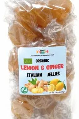 Dulcefina Lemon and Ginger Organic Italian Jellies