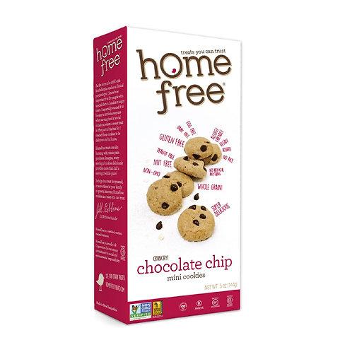 Home Free Mini Chocolate Chip Cookies - Gluten Free 5 oz
