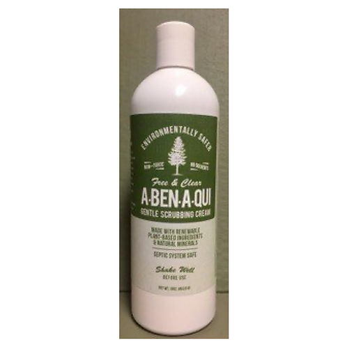 "Gentle Scrubbing Cream ""Free & Clear"" - 16 OZ"