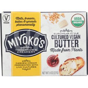 European Style Cultured Vegan Butter