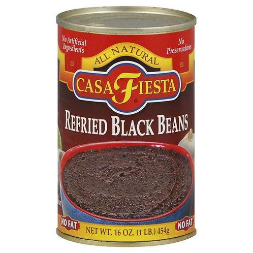 Casa Fiesta Refried Black Beans