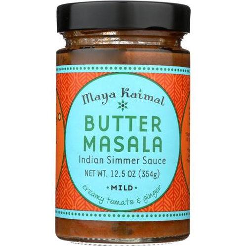 Butter Masala Mild Indian Simmer Sauce 12.5oz