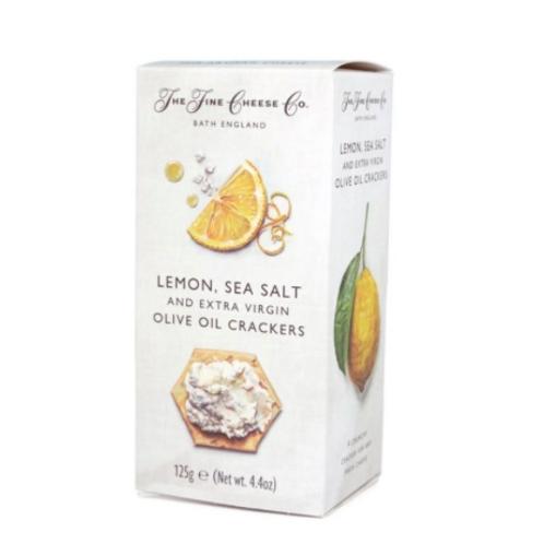 Fine Cheese Crackers - Lemon Sea Salt