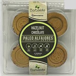 Hazelnut and Chocolate Alfajores Cookies, Paleo - 12 Pack