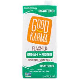 Good Karma Unsweetened Flax Milk Omega-3+ Protein
