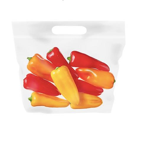 Mini Sweet Peppers, Organic - 8oz bag