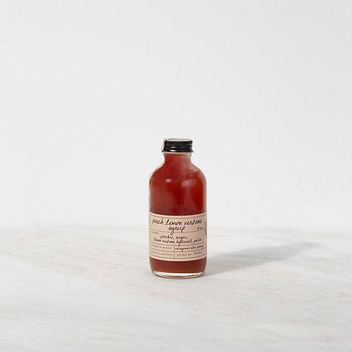 Peach Lemon Verbena Syrup