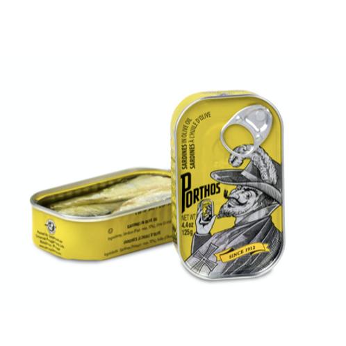 Sardines in olive oil - Porthos