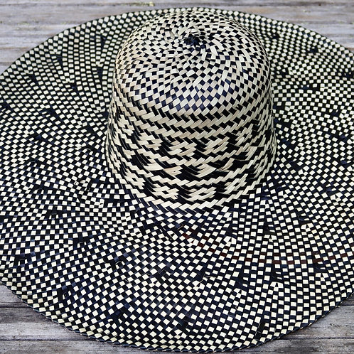 Large Sun Hat - Black