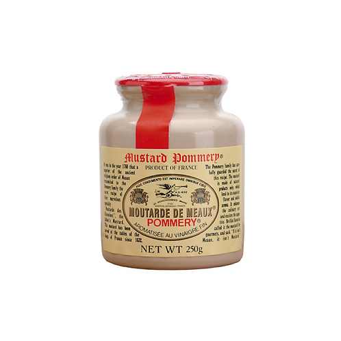 Stone Ground Meaux Mustard