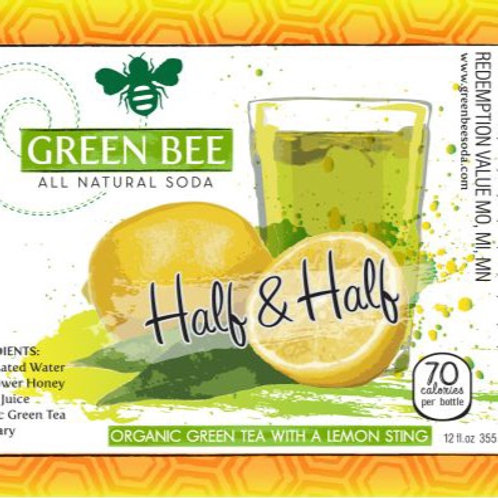 Green Bee Soda -  Soda Green Tea/lemon - 4 pack