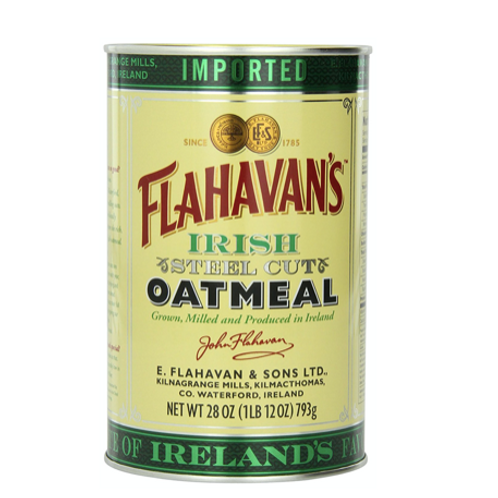 Flahavan's Irish Steel Cut Oatmeal Tin
