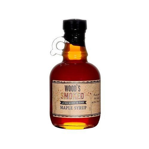 Wood's Hickory and Oak Smoked Maple Syrup