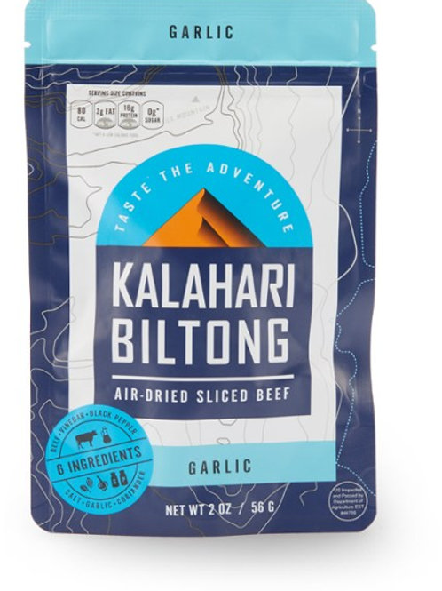 Garlic Kalahari Biltong, Air-Dried Thinly Sliced Beef