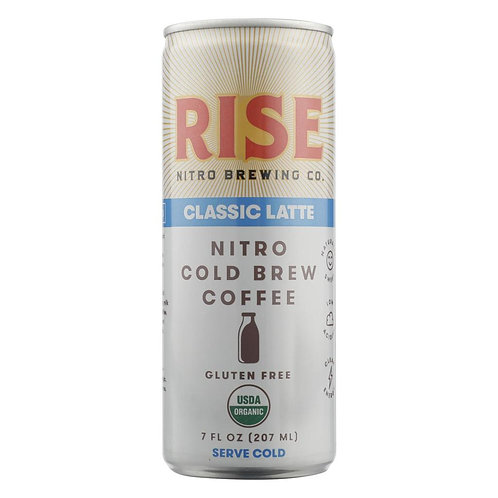 Rise Brewing Co. -Classic Latte Nitro Cold Brew Coffee