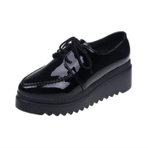 Pantofi tip oxford cu talpă stilizată Sonya