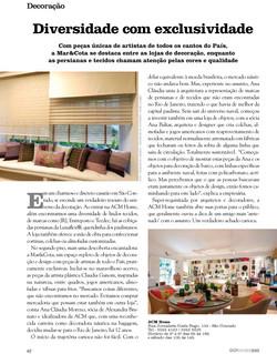2011 - Revista Go Where RIO