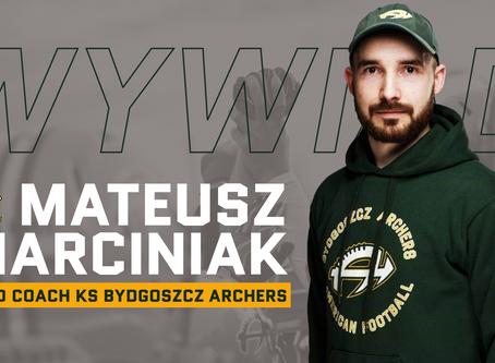 Przedsezonowy wywiad z  Mateuszem Marciniakiem - HC KS Bydgoszcz Archers