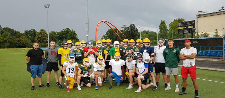 Wakacyjny obóz sportowy młodzieżowej drużyny Archers Bydgoszcz