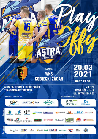 Astra Plakat meczowy