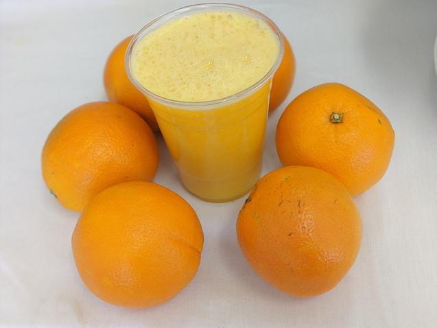 suco de laranja natura $6,00