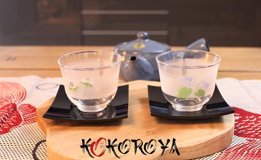 Set verres à thé froid